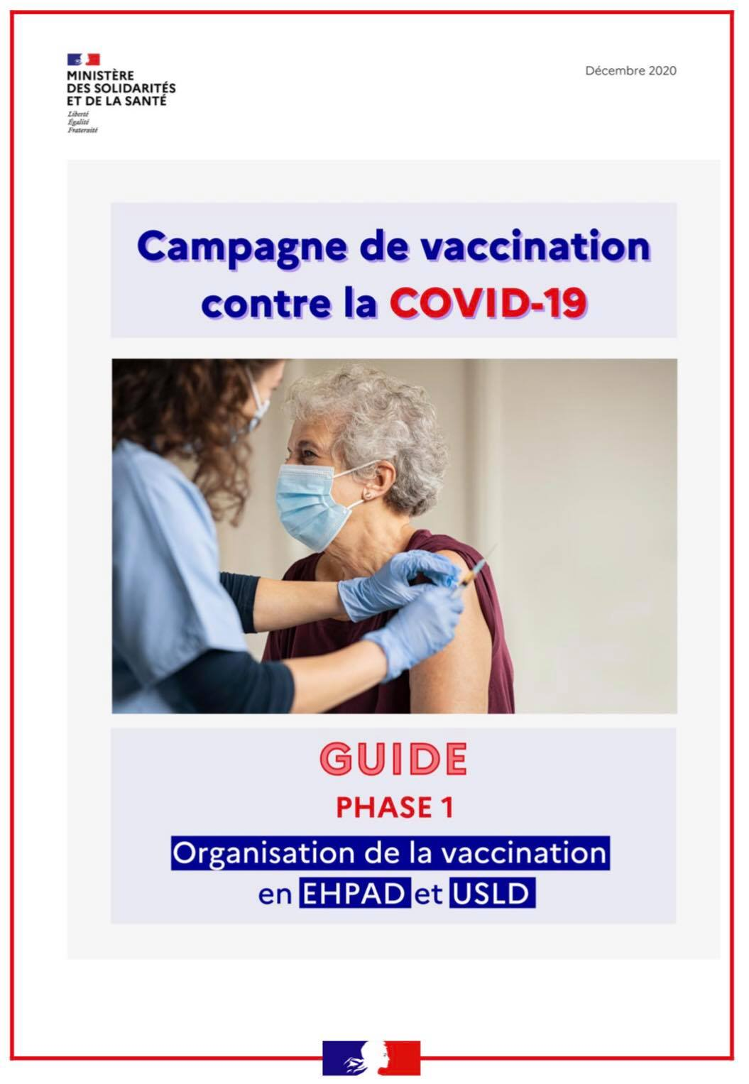 Vaccination anti-COVID en EHPAD et USLD